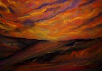 SUNSET IN A DREAM (soft pastel)