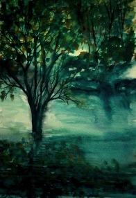 SCENE FROM A DREAM (watercolour, A3)