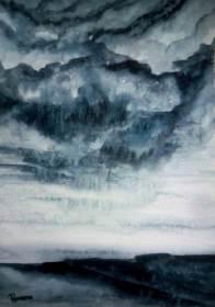 AUTUMN DREAM (watercolour, A3)