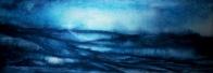 BLUE MIST (watercolour, 68cm x 24cm)