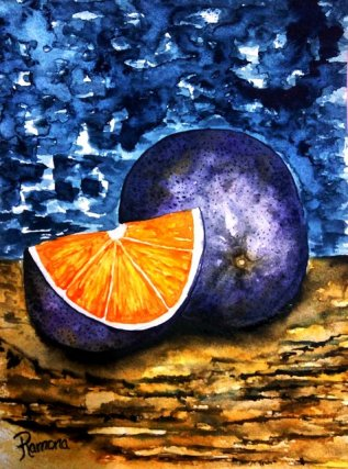 Purple Orange